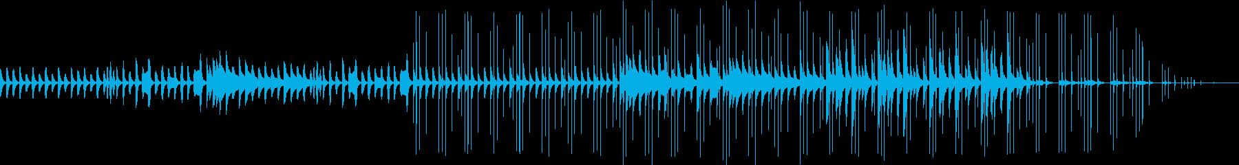 木琴、鉄琴で柔らかく暖かいイメージの曲。の再生済みの波形