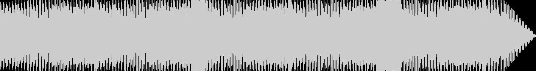 クールなビートのロックポップにテクノ要素の未再生の波形