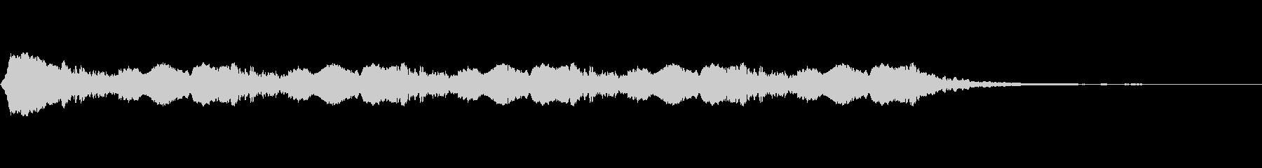 低ドローン、ディープ、スペースの未再生の波形