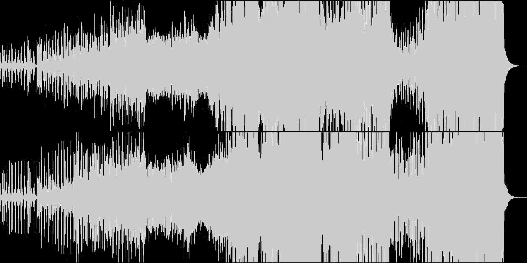 古楽風な木管と金管がカッコいいプログレの未再生の波形