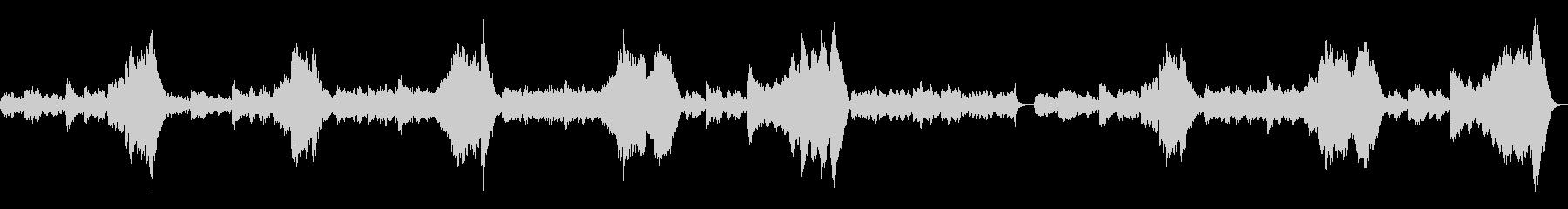 「シシリア風」弦楽四重奏の未再生の波形