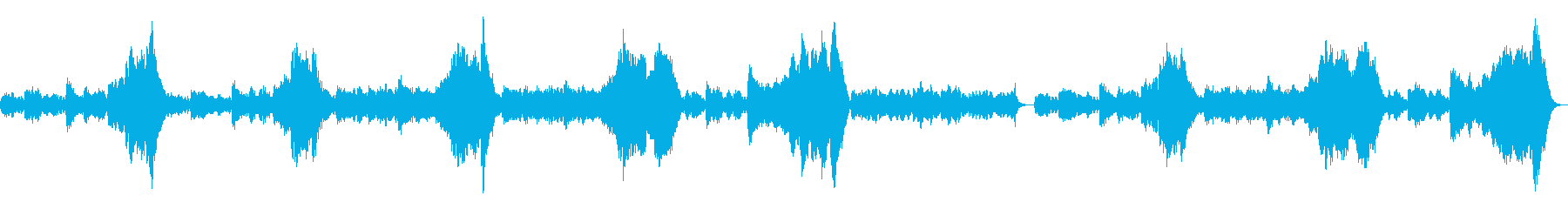 「シシリア風」弦楽四重奏の再生済みの波形