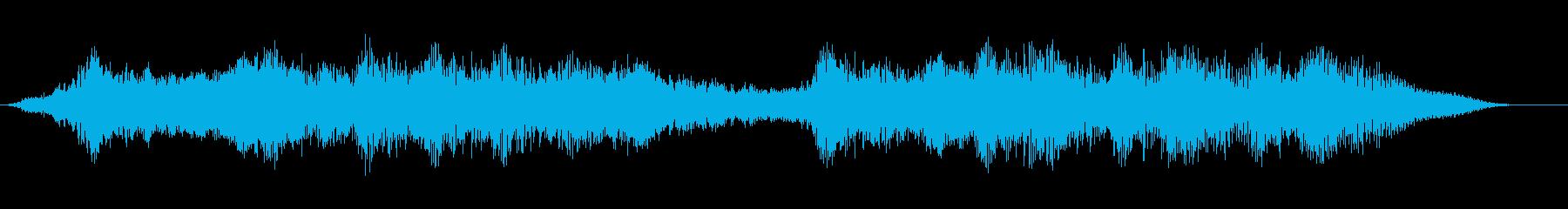 未知のレルムの再生済みの波形