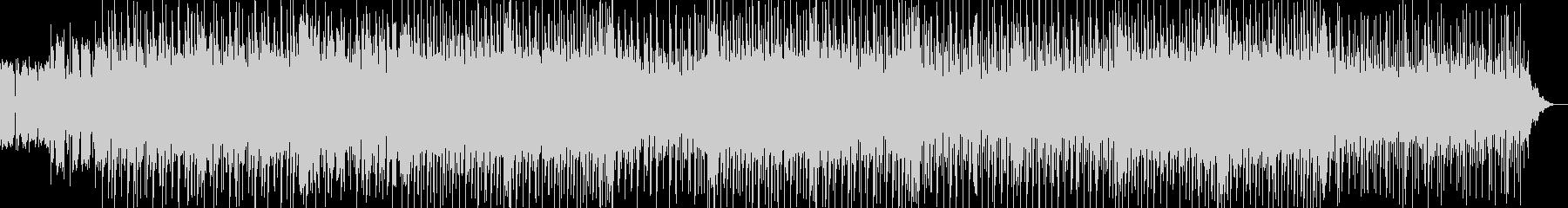 ハウスっぽいリズムとノリのカッコイ曲の未再生の波形