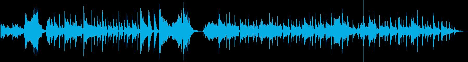 コメディの短い楽器のキュー。楽しく...の再生済みの波形