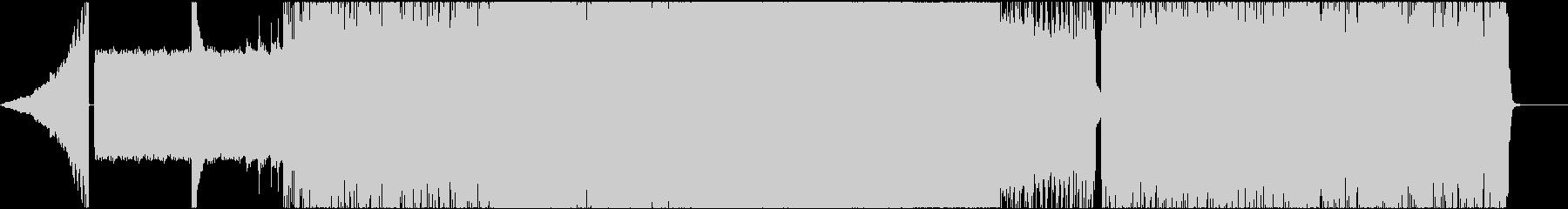 ロック系 攻撃的なファンクロック!③の未再生の波形