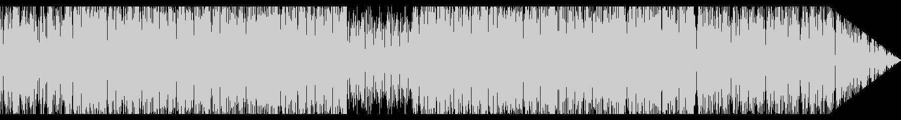 レトロなエレクトリック・ファンク風の未再生の波形