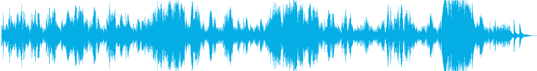 ショパン ノクターン第2番 ピアノ モノの再生済みの波形