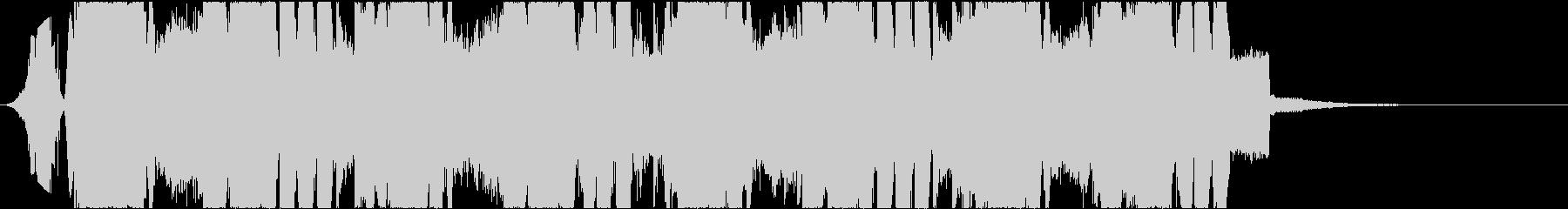 ジングル向け ショートバージョン2の未再生の波形