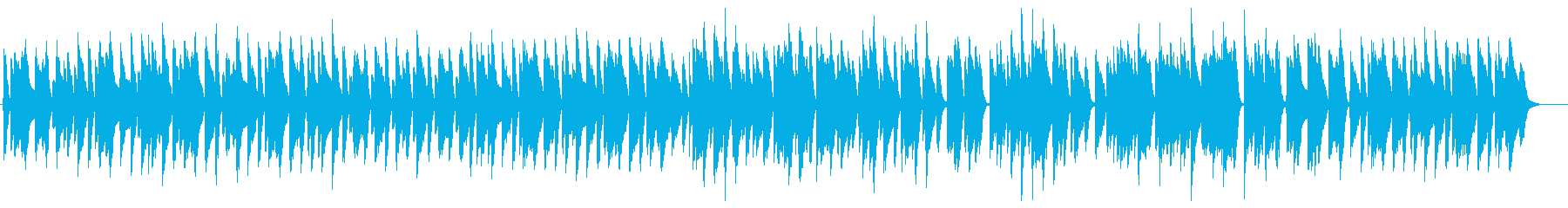アドリブ感のある軽快で明るいピアノ曲の再生済みの波形
