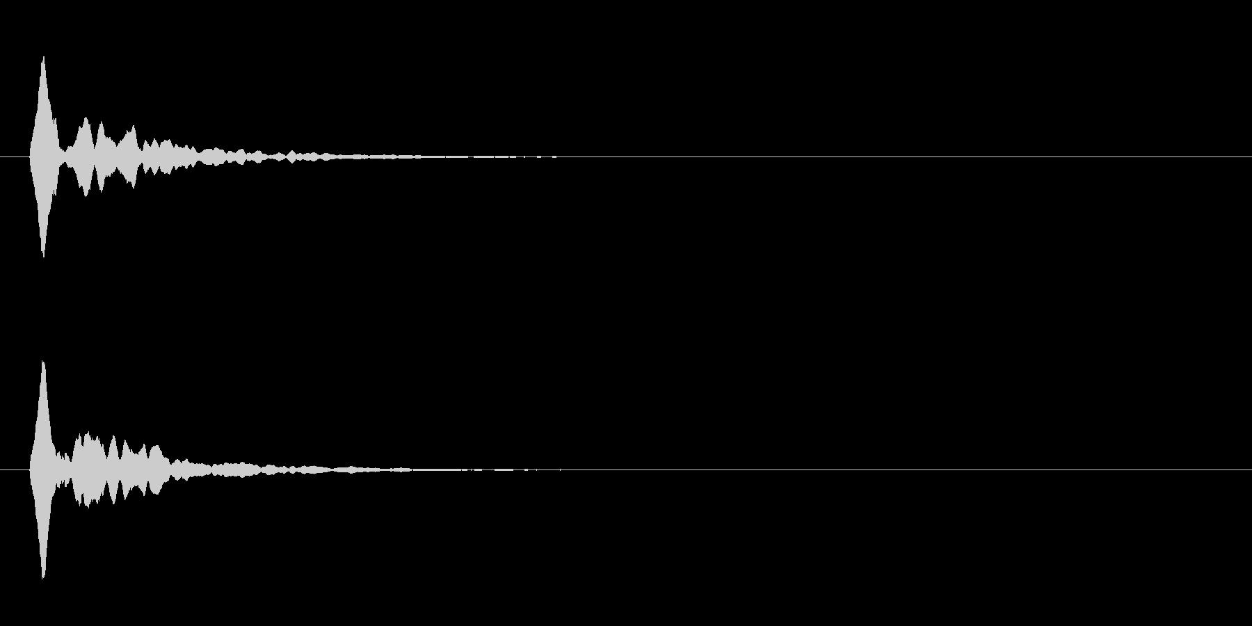 キラン⑤(星・コイン・輝く・アイテム)の未再生の波形