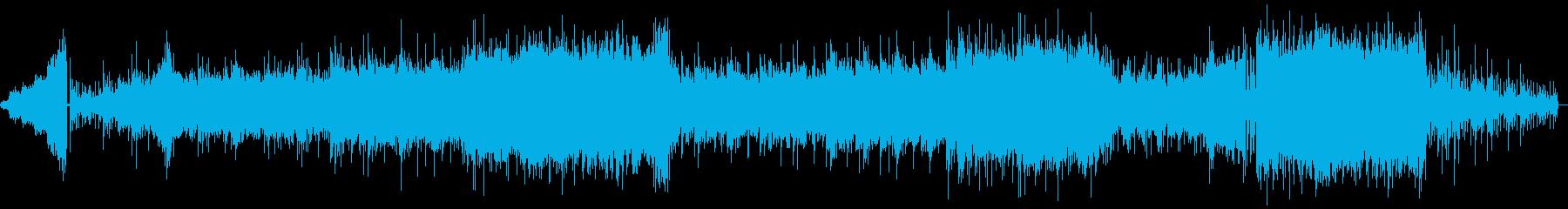 幻想的でエスニックな穏やかBGMの再生済みの波形