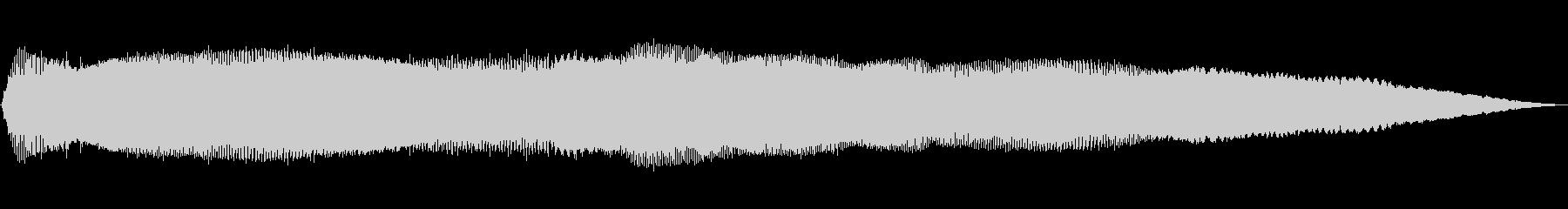 トーンアラーム不協和音高wavの未再生の波形