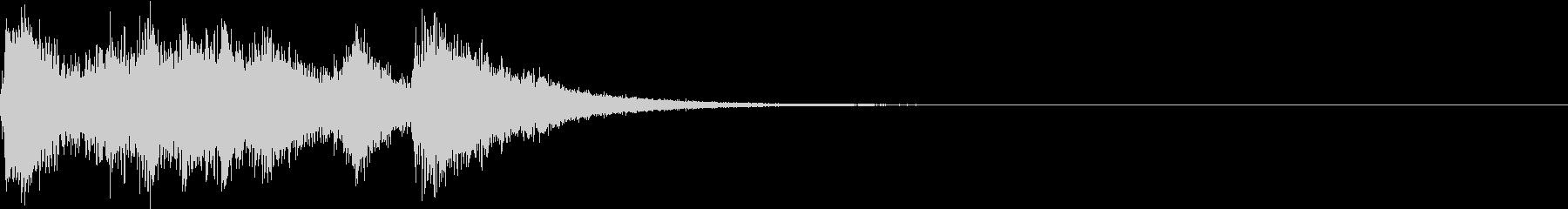 ファンファーレ オーケストラ 発表 01の未再生の波形