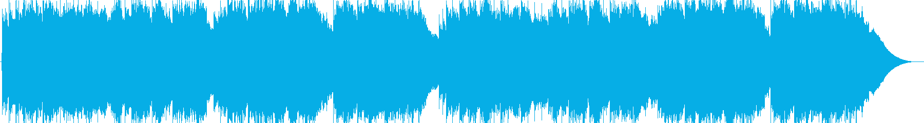 ほのぼのクラシックギターソロの再生済みの波形