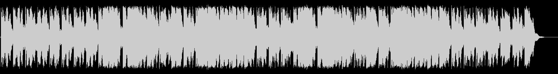ふんわりとしたリラクゼーションBGMの未再生の波形