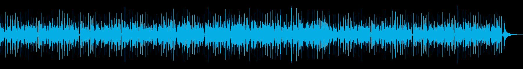 カッコつけた感じの渋めのボサノバの再生済みの波形