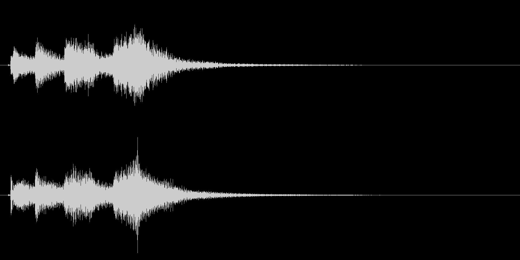 琴のフレーズ3☆調律1の未再生の波形