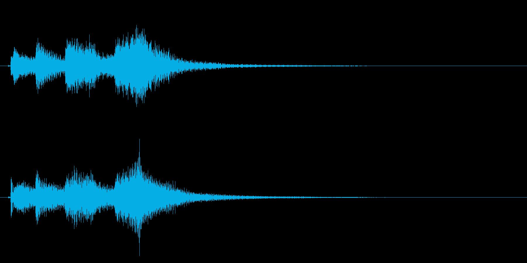 琴のフレーズ3☆調律1の再生済みの波形