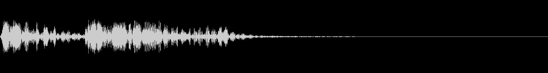ビープ音が鳴る32の未再生の波形