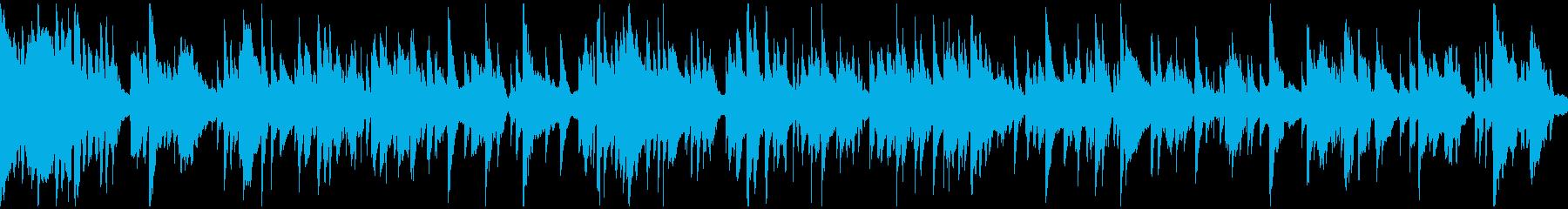 艶めかしいエロい下品なサックス※ループ版の再生済みの波形