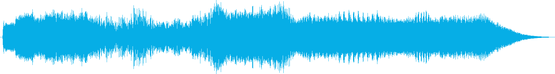 歪んだデジタルスキャンによる高速テ...の再生済みの波形