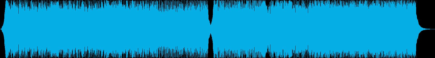 キャッチーでポジティブなコーポレート系の再生済みの波形