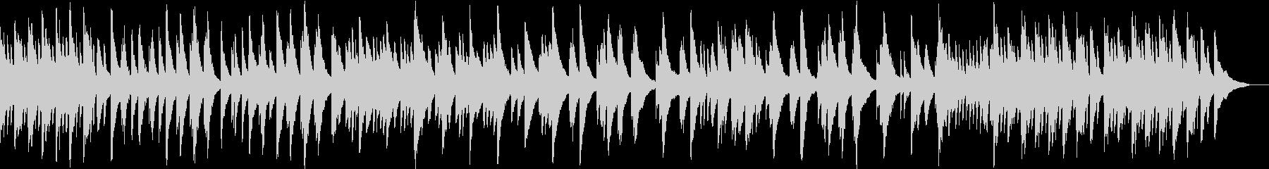 シンプルで落ち着いたピアノ音源ですの未再生の波形