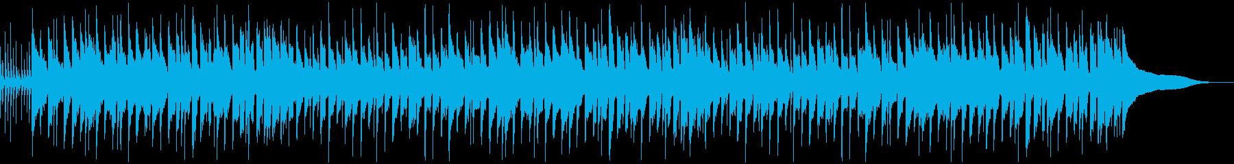 カントリー風ほのぼのBGMの再生済みの波形