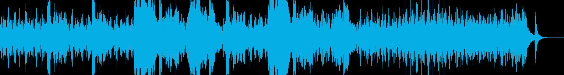 ほのぼのとした可愛い感じのBGMですの再生済みの波形