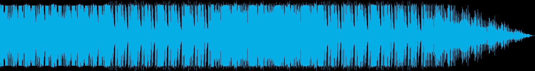 途方に暮れてるようなスローテンポのEDMの再生済みの波形