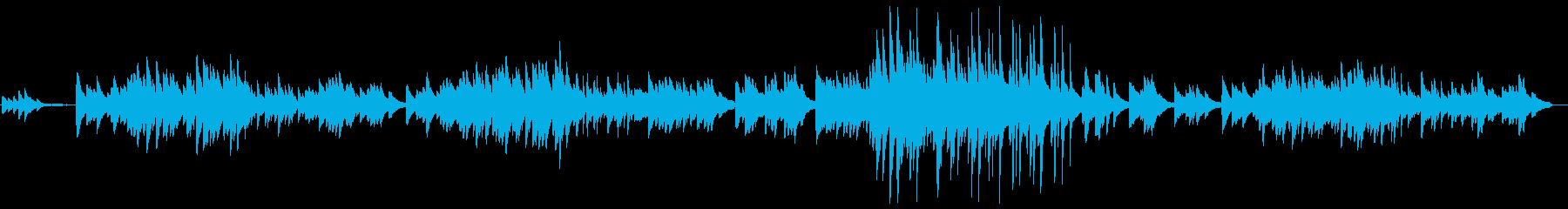 3拍子の癒しをピアノソロで。ヒーリング♪の再生済みの波形