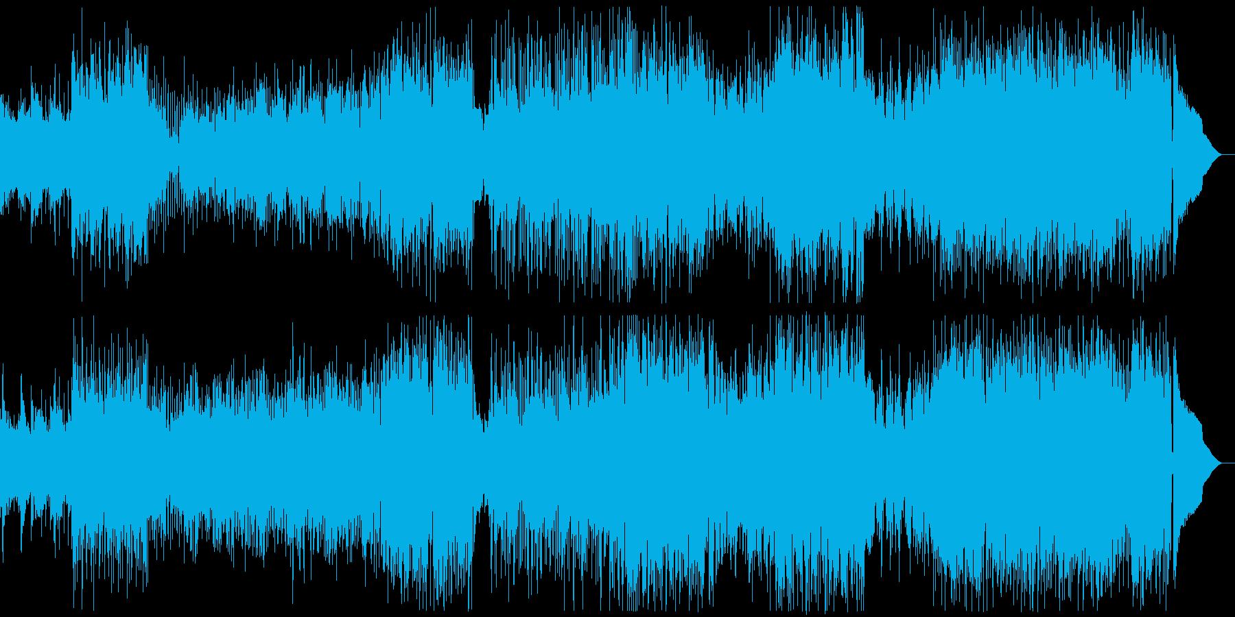 ケルト要素の入ったアコースティックロックの再生済みの波形