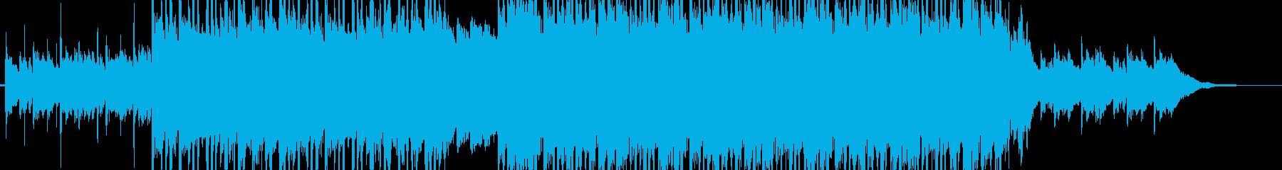 ポップインスト。音響の流れ、隆起、...の再生済みの波形