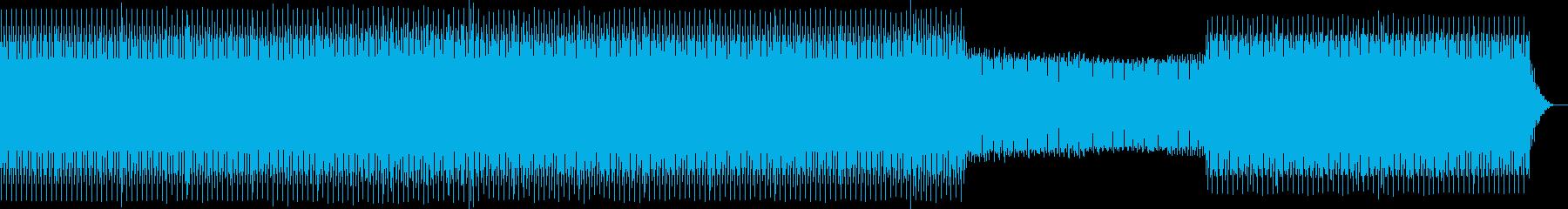 technoの再生済みの波形