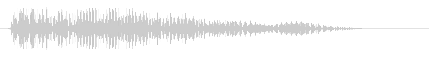 ウミョォーン、というコミカルな音の未再生の波形