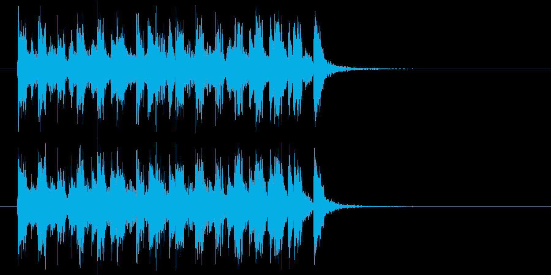 弾ける弦楽器が可愛いエキゾチックなポップの再生済みの波形