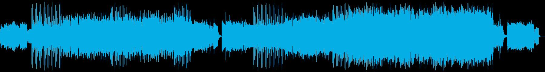 儚く切なく勇ましい和風サムライ音楽の再生済みの波形