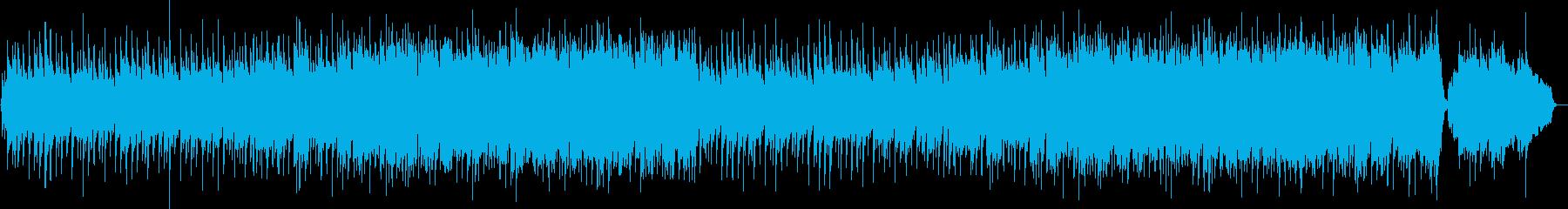 琴と尺八と鼓による和風ポップバラードの再生済みの波形