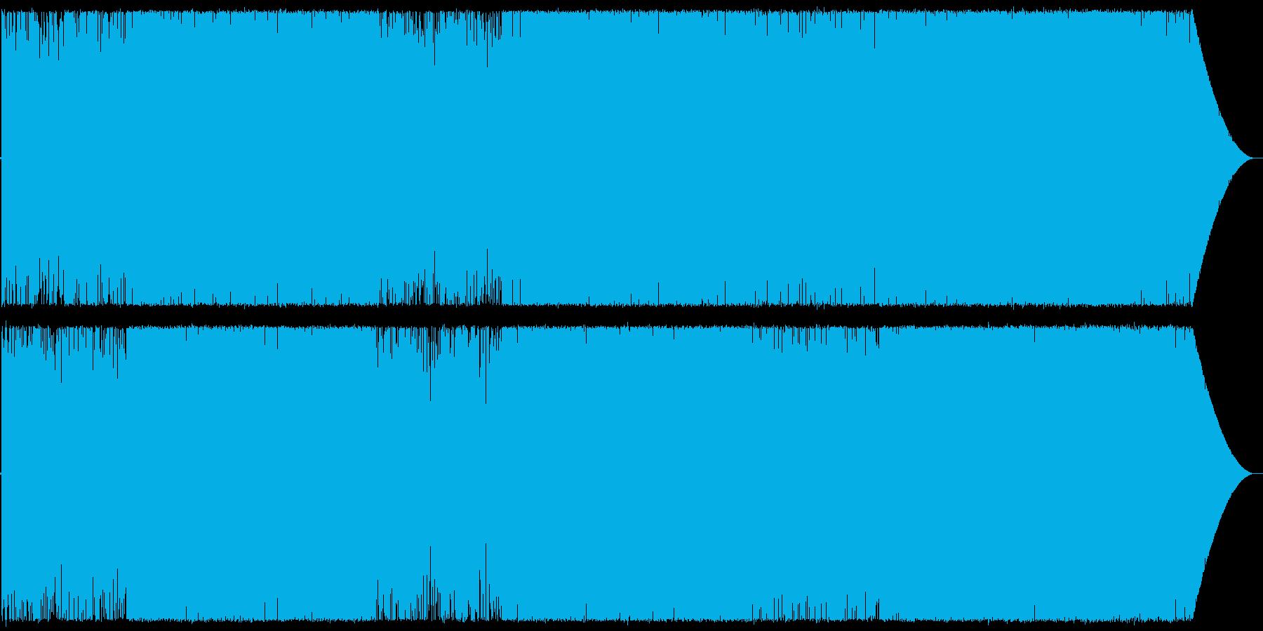 Chill/Healing系の曲12の再生済みの波形