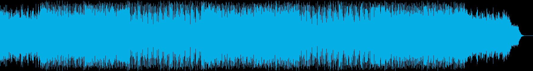 クリスマス・ワクワク・楽しい・キラキラの再生済みの波形