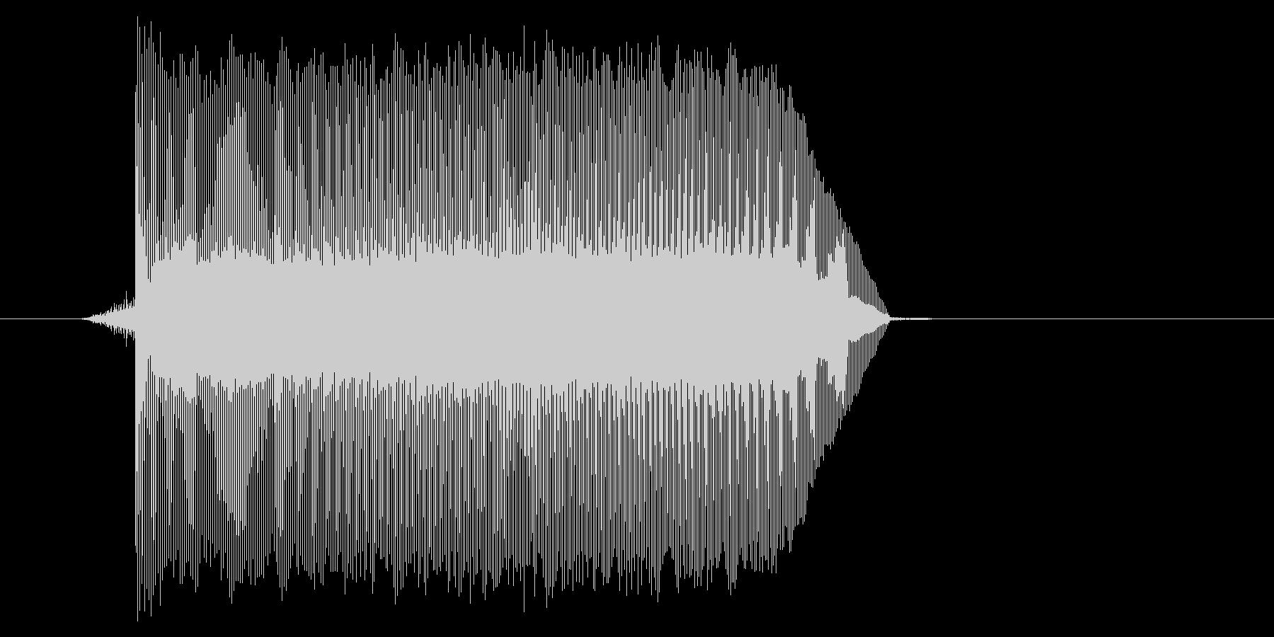 ゲーム(ファミコン風)ジャンプ音_024の未再生の波形