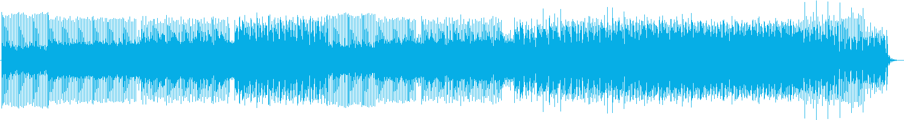 懐かしいファミコンのゲーム音を再現の再生済みの波形