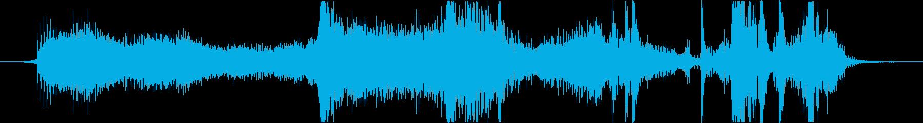 フィクション 力学 機械変換04の再生済みの波形