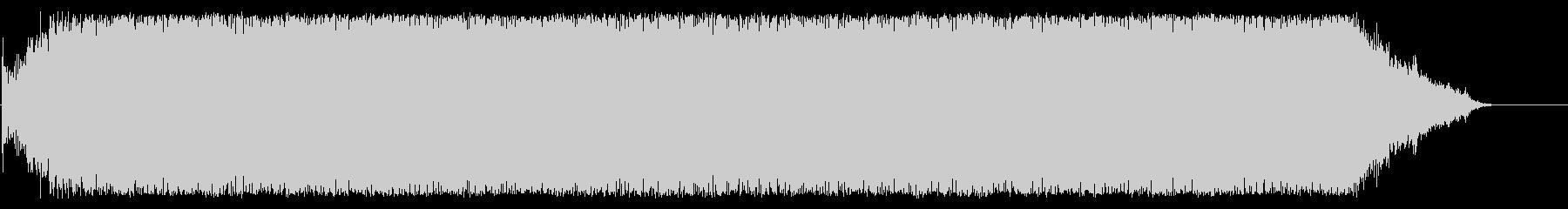 【生録音】ヘアドライヤーの音 4の未再生の波形