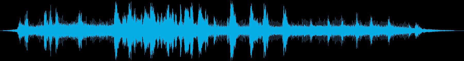 ポート0-30のカモメの再生済みの波形