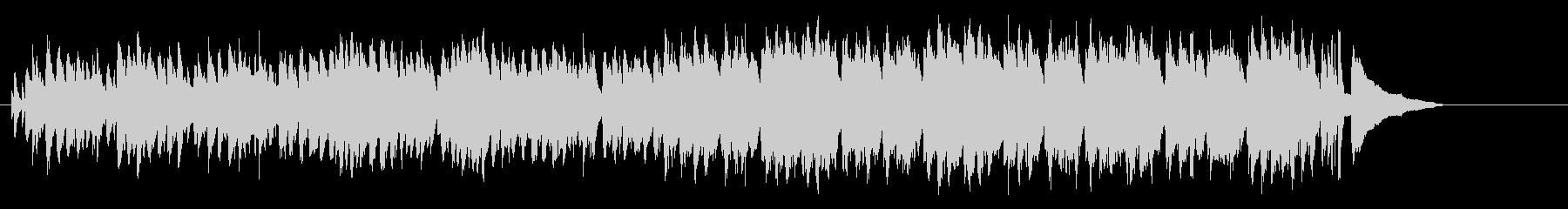 スウィンギーなテーマ風のジャズ・サウンドの未再生の波形