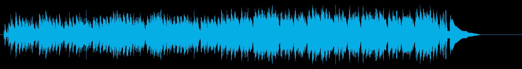 スウィンギーなテーマ風のジャズ・サウンドの再生済みの波形