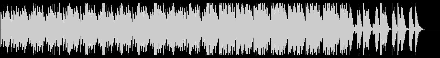 奇妙なピアノ【不思議】の未再生の波形