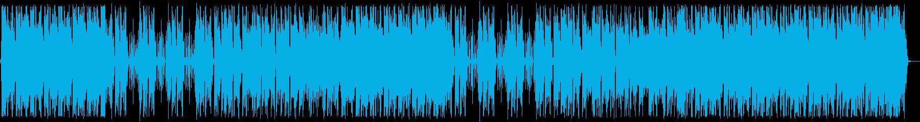 聞きやすいpianoPOPSの再生済みの波形